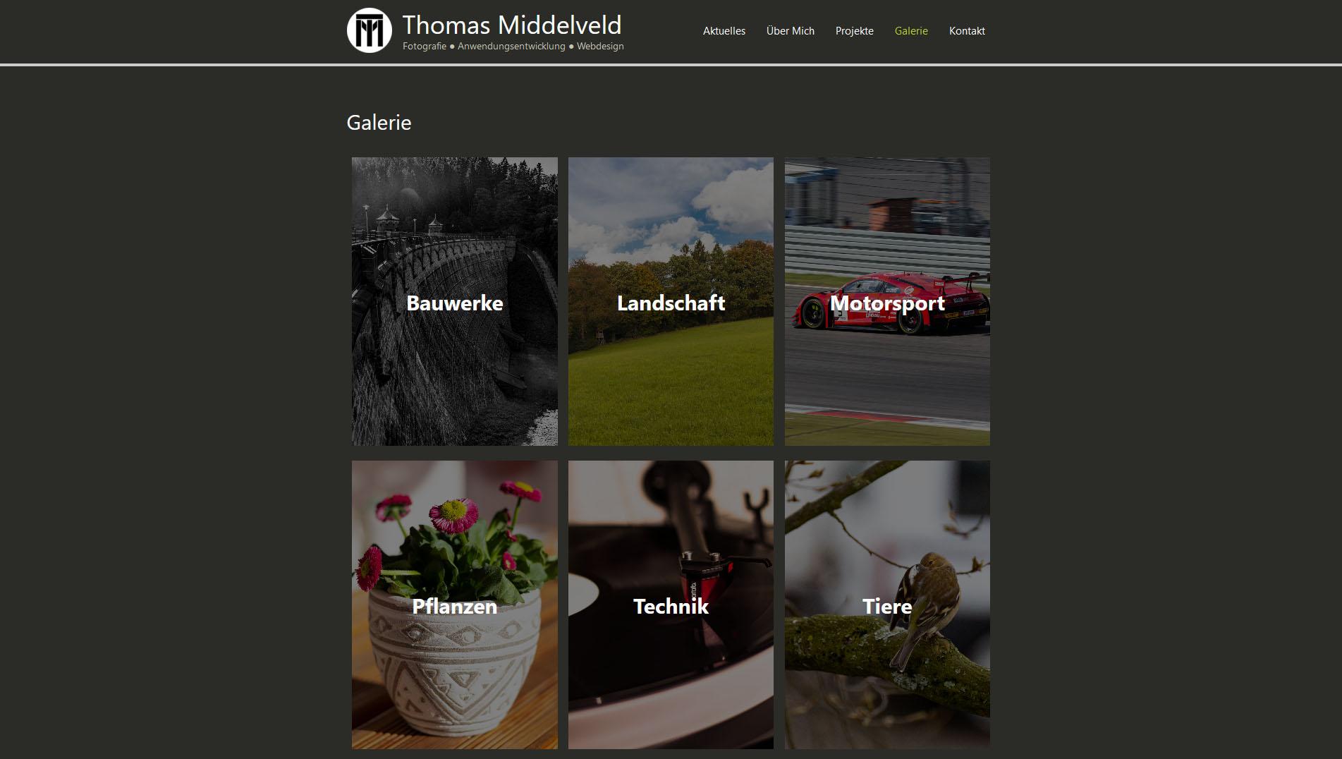 Neues Webseiten-Design - Vordergrundbild