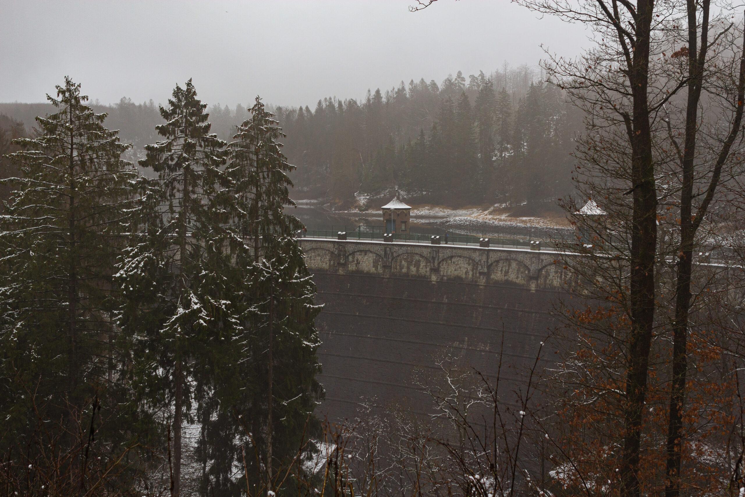 Fototour: Schnee im Sengbachtal - Vordergrundbild