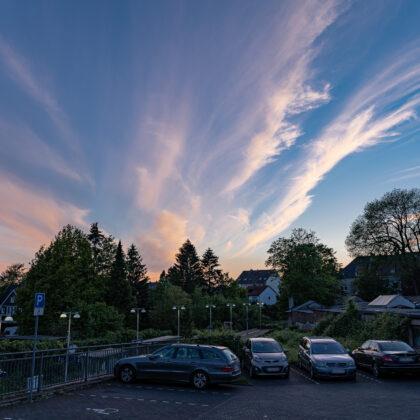 Spaziergang: Abends durch Höhscheid und Umgebung' - Hintergrundbild
