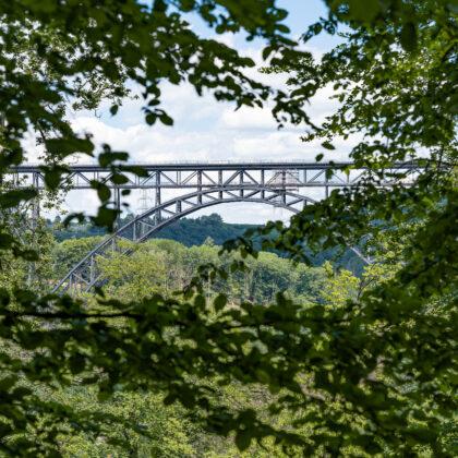Spaziergang: Müngstener Brücke' - Hintergrundbild